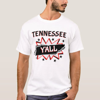 Tennessee State Pride Y'all T-Shirt