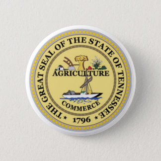Tennessee State Seal 6 Cm Round Badge