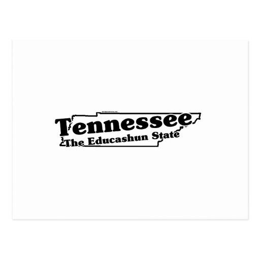 Tennessee State Slogan Postcard