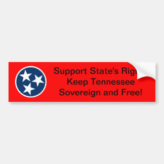 Tennessee State's Rights Bumper Sticker