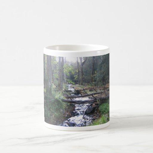 Tennessee stream coffee mugs