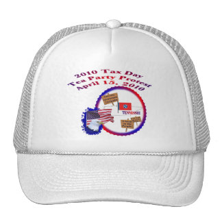 Tennessee Tax Day Tea Party Protest Trucker Hat