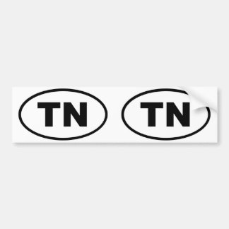 Tennessee TN Bumper Sticker
