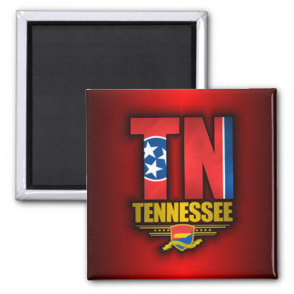 Tennessee (TN) Square Magnet