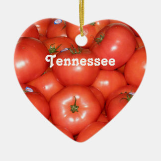 Tennessee Tomatoes Christmas Ornament