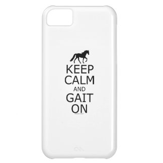 Tennessee Walker Keep Calm Gait On iPhone 5C Case
