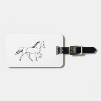 Tennessee Walking Horse Luggage Tag