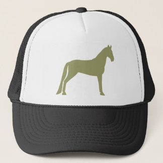 Tennessee Walking Horse (olive green) Trucker Hat