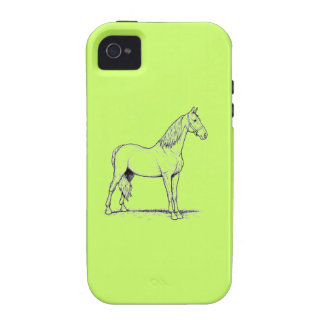 Tennessee Walking Horse - Standing iPhone 4 Cover