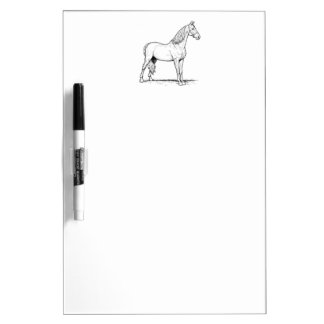 Tennessee Walking Horse - Standing Dry Erase Board