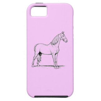 Tennessee Walking Horse - Standing Tough iPhone 5 Case