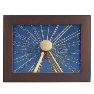 Tennessee Wheel Keepsake Box
