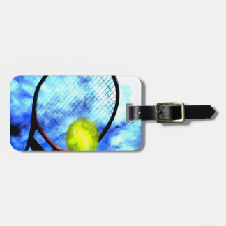 Tennis All Day Grunge Style Luggage Tag