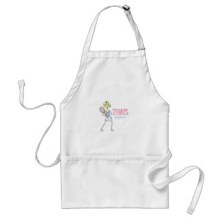 TENNIS ANYONE? ADULT APRON