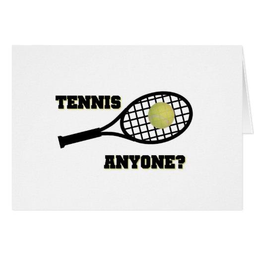 Tennis Anyone? Greeting Card