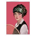 Tennis Anyone Greeting Cards
