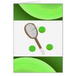 Tennis Anyone Note Card