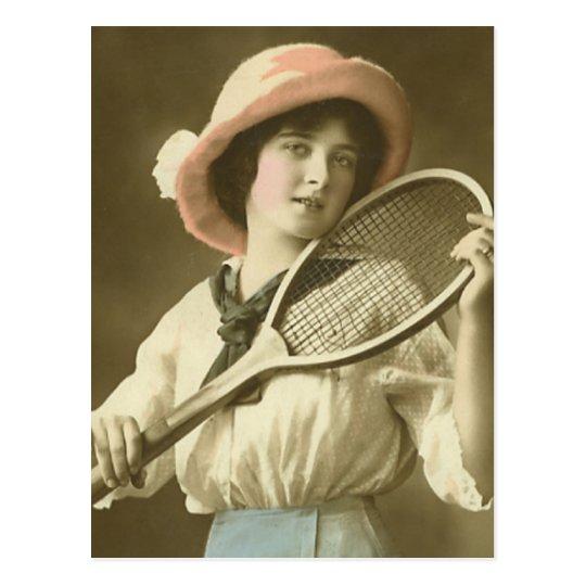 Tennis Anyone Postcard