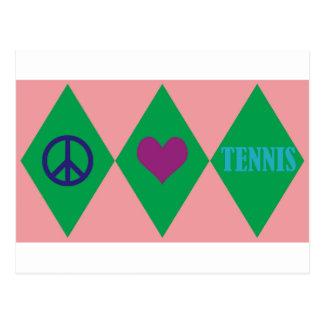 Tennis Argyle Postcards