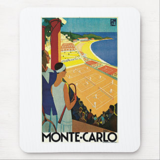 Tennis at Monte Carlo Mouse Pad