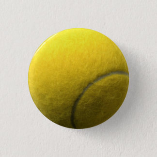 Tennis Ball 3 Cm Round Badge