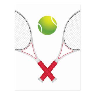 Tennis Ball and Racket2 Postcard