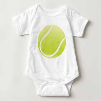 tennis ball baby bodysuit