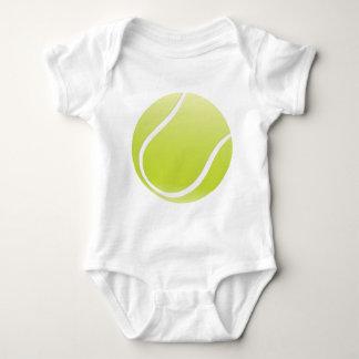 tennis ball baby bodysuit