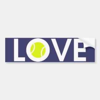 Tennis Ball Bumper Sticker