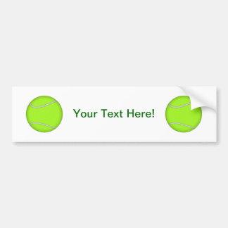 Tennis Ball: Bumper Sticker