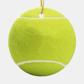 Tennis Ball Christmas Tree Ornament