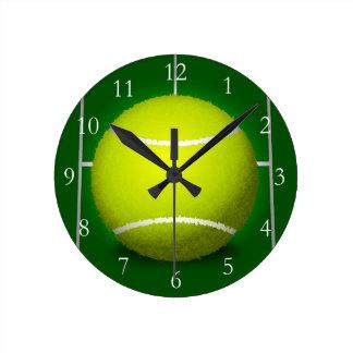 Tennis Ball Clock