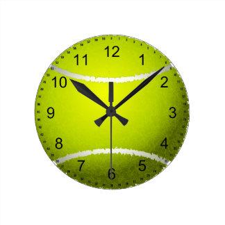 Tennis Ball Clocks