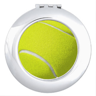 Tennis Ball Compact Mirror
