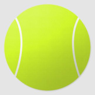 Tennis Ball Custom Gifts and Accessories Round Sticker