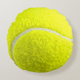"""""""Tennis Ball"""" design gifts and products Round Cushion"""
