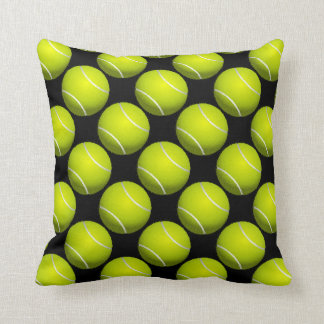 Tennis Ball Design Throw Pillow