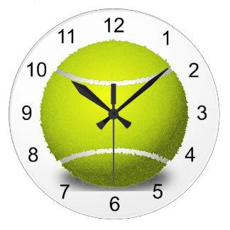 Tennis Ball Design Wall Clock