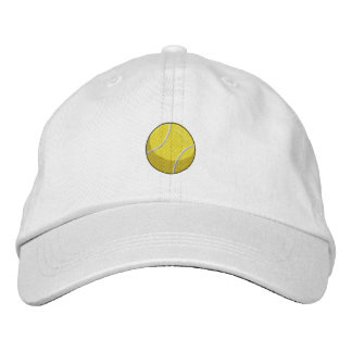 Tennis Ball Embroidered Hat