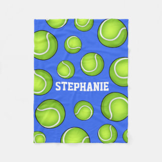 Tennis Ball Fleece Blanket