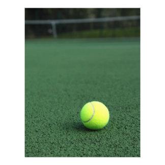Tennis Ball Flyer Design