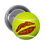 Tennis ball kiss