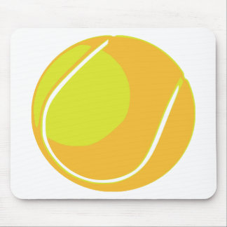 Tennis Ball Mouse Mat