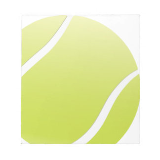 tennis ball notepad
