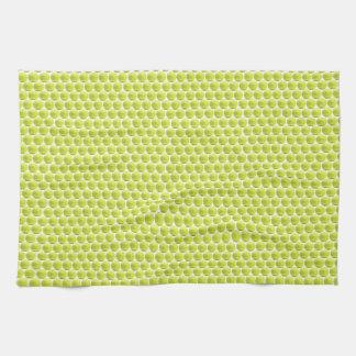 Tennis Ball Pattern Kitchen Towel