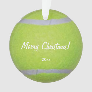 Tennis Ball Personalized Ornament