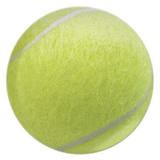 Tennis Ball Plate