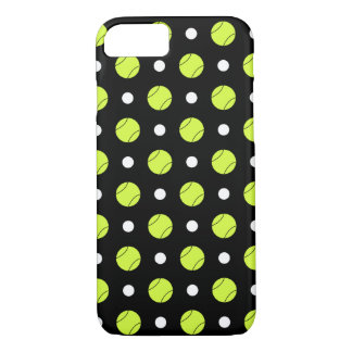 Tennis Ball Polka Dot Pattern iPhone 8/7 Case