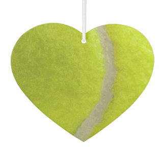 Tennis Ball Print Pattern Background Car Air Freshener