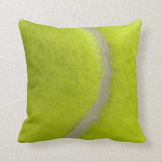 Tennis Ball Print Pattern Background Cushion